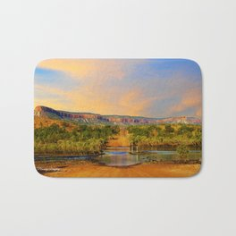 Sunset on the Cockburn Range - The Kimberley Bath Mat