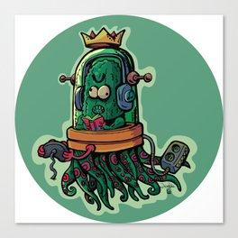 cucumber rookie player Canvas Print