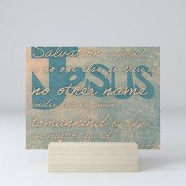 The Name of Jesus Mini Art Print