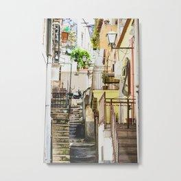 Blind alley Metal Print