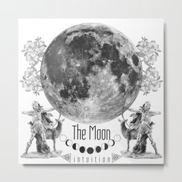The Moon: Intuition Metal Print
