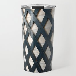 Fences Make Good Patterns Travel Mug
