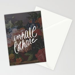INHALE/EXHALE Stationery Cards