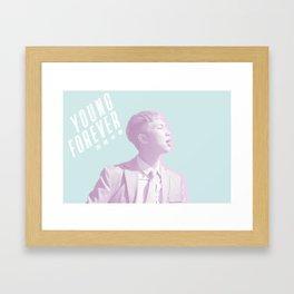 Young Forever Namjoon Framed Art Print