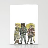 steampunk Stationery Cards featuring Steampunk  by Felis Simha