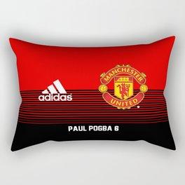 Pogba - Manchester United Home 2018/19 Rectangular Pillow