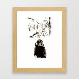 Forever, in Pieces - Illustration Framed Art Print