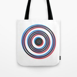 overlapping waves Tote Bag