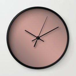 Pink cocoa Wall Clock