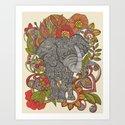 Bo the elephant by valentinaramos