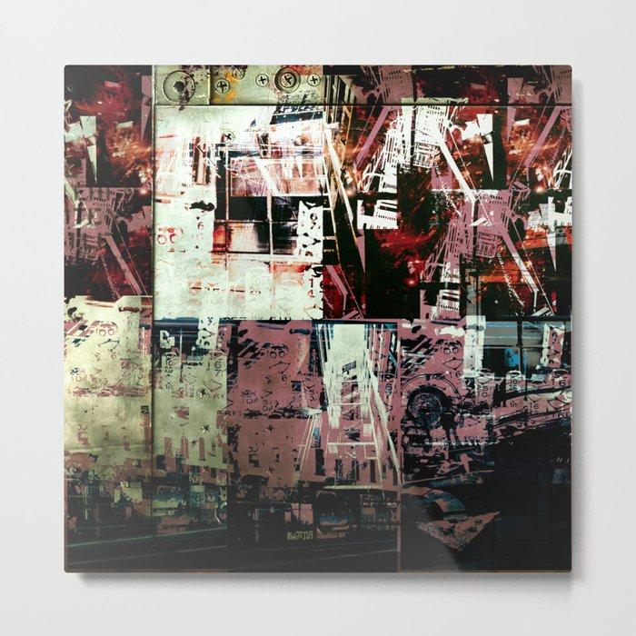Concrete Jungle 2 Metal Print