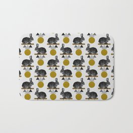 Tribal Rabbit Bath Mat