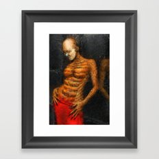 The Other Side of the Mirror Framed Art Print