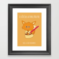 Raji the Jedi Framed Art Print