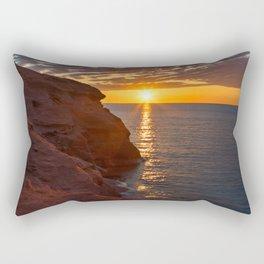 Seacow Head Sunset Rectangular Pillow