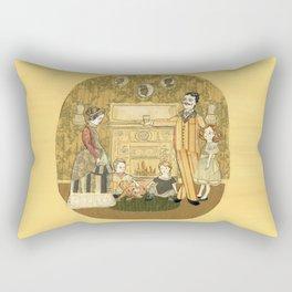 Family Fire Rectangular Pillow