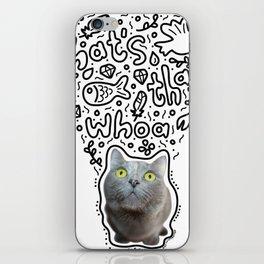 Cadoodle Whoa iPhone Skin