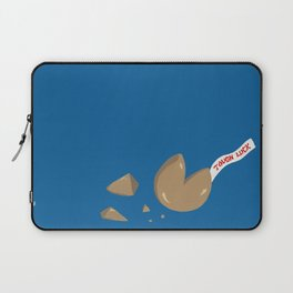 'Tough Luck' Fortune Cookie Pun Laptop Sleeve