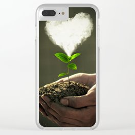 Be kind to everything that lives Clear iPhone Case