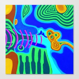 Music - The Elements - Air Canvas Print