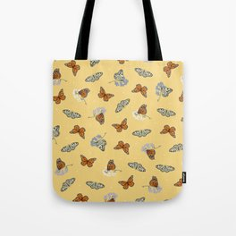 Butterfly Array Tote Bag