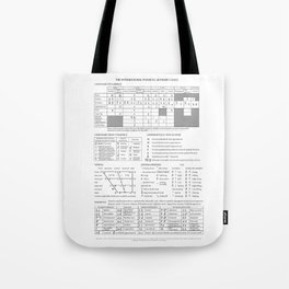 International Phonetic Alphabet Tote Bag