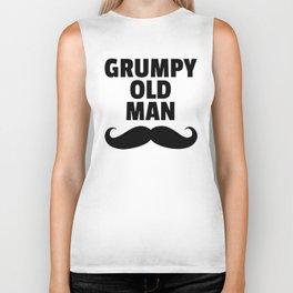 Grumpy Old Man Funny Quote Biker Tank