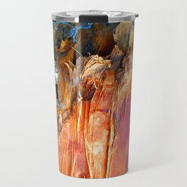 Wood Texture 86 Travel Mug