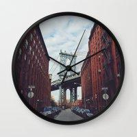 dumbo Wall Clocks featuring Dumbo by Dukenny
