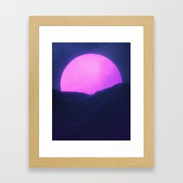 New Sun III Framed Art Print