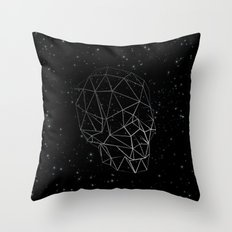 Skull Constellation Throw Pillow