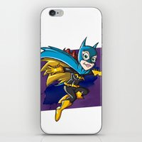 batgirl iPhone & iPod Skins featuring Batgirl! by neicosta