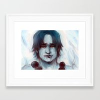 ace Framed Art Prints featuring Ace  by Stjarnskrik