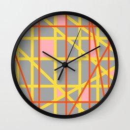 Abstract RQ Wall Clock