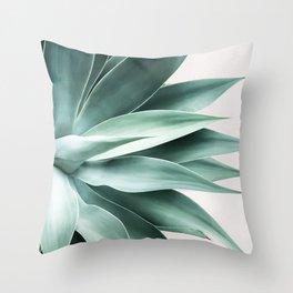Bursting into life Throw Pillow