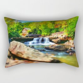 Glade Creek Grist Mill Rectangular Pillow
