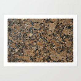 Stone Texture Surface 29 Art Print