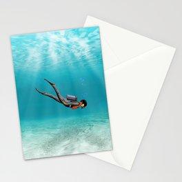 S.C.U.B.A. Diver Stationery Cards