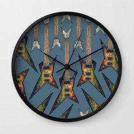 Electric Guitar 3 Wall Clock