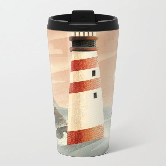 Whale Metal Travel Mug