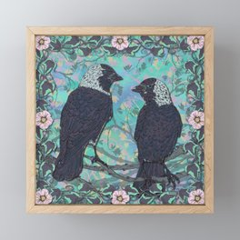 Forever Jackdaws Framed Mini Art Print