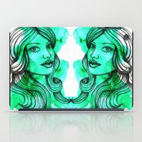 ellie goulding iPad Cases featuring Ellie by bexchalloner