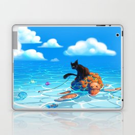 A hot summers day Laptop & iPad Skin