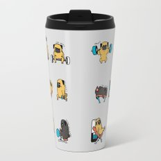 Leg Day with The Pug Travel Mug