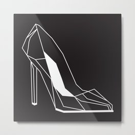 raya goods : stiletto architecture Metal Print