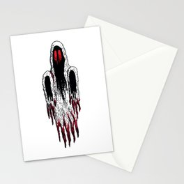 Demi-Lich Ghost Spectre Sprite Illustration Drawing Vector Stationery Cards