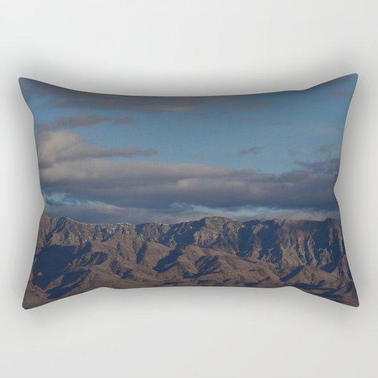 Virgin Mountains in February Rectangular Pillow