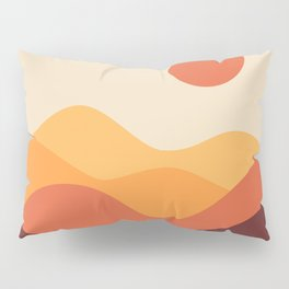 Geometric Landscape 21 Pillow Sham