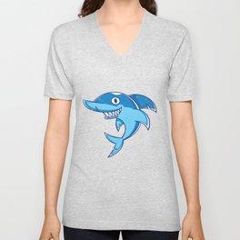 Shark Animal Unisex V-Neck