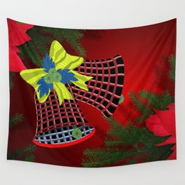 Christmas Bells Wall Tapestry